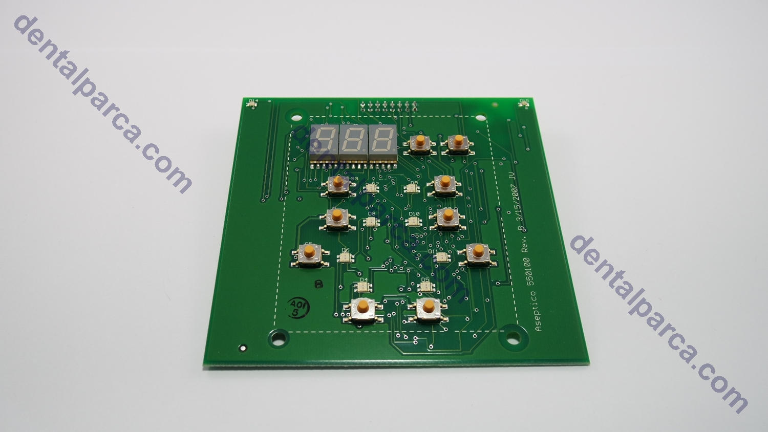 PCB ASSEMBLY DISPLAY resmi