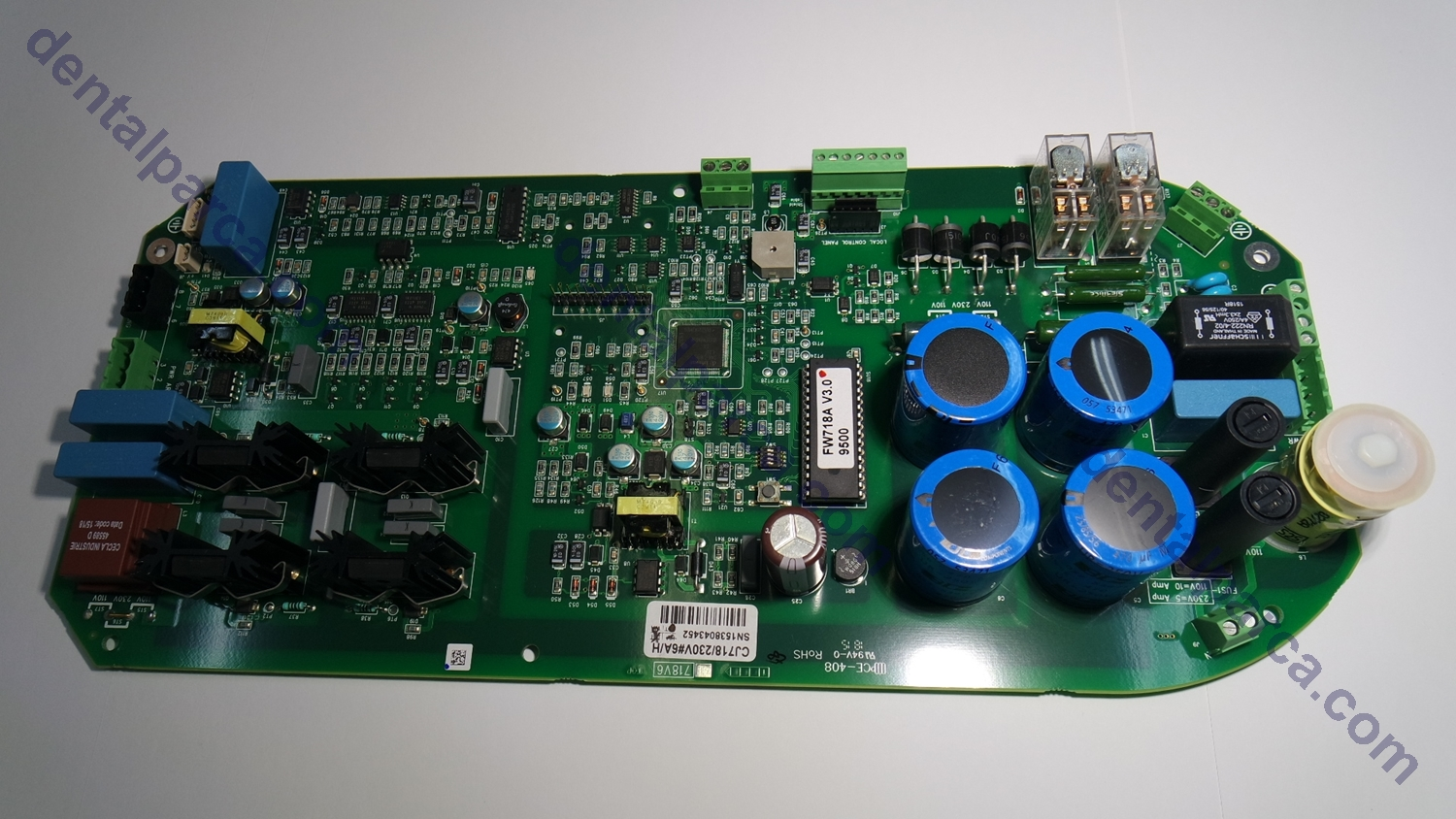 POWER BOARD 2200 230 V resmi