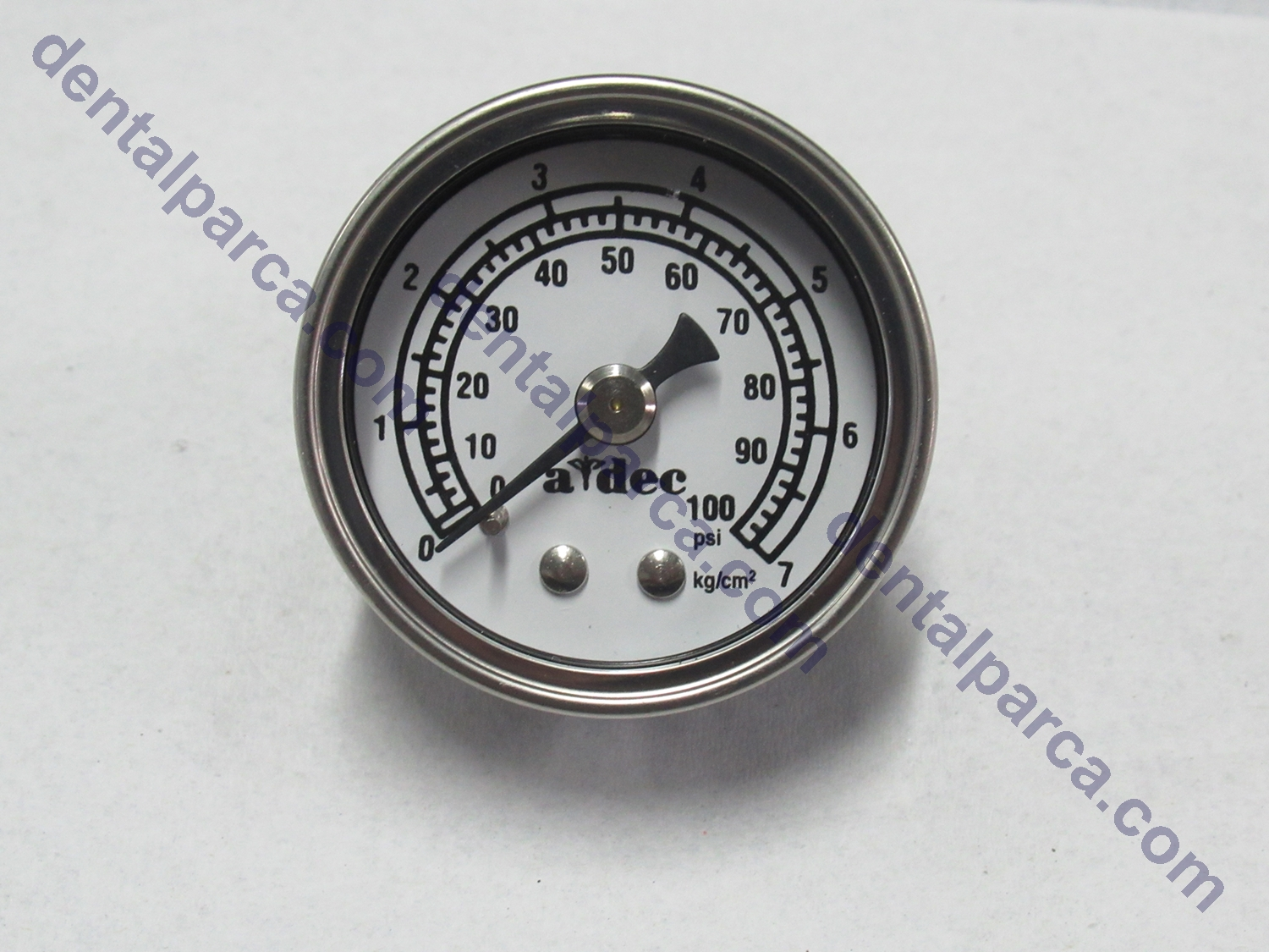 GAUGE,PANEL MOUNT,0-100PSI     resmi